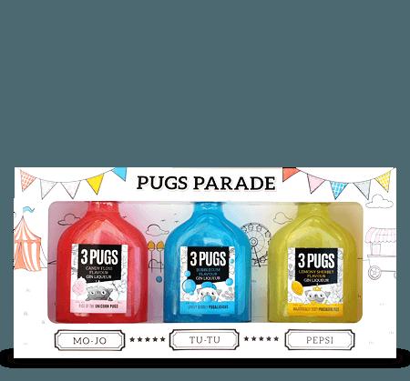 Pugs Parade Gift Set